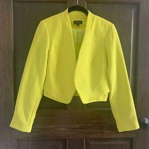 Neon Topshop blazer